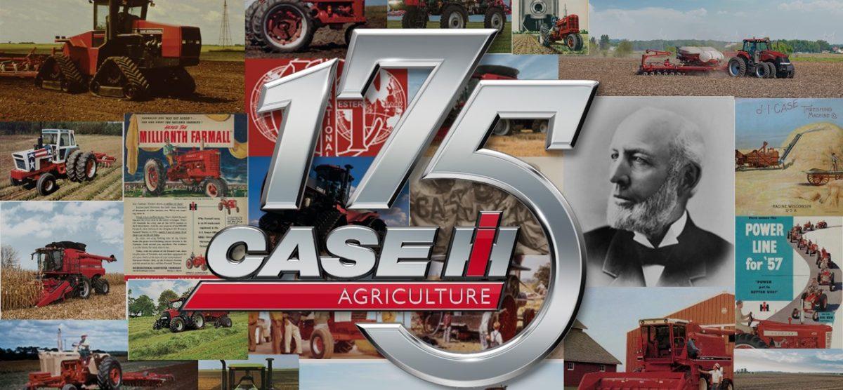 Case IH comemora 175 anos de vanguarda em equipamentos agrícolas