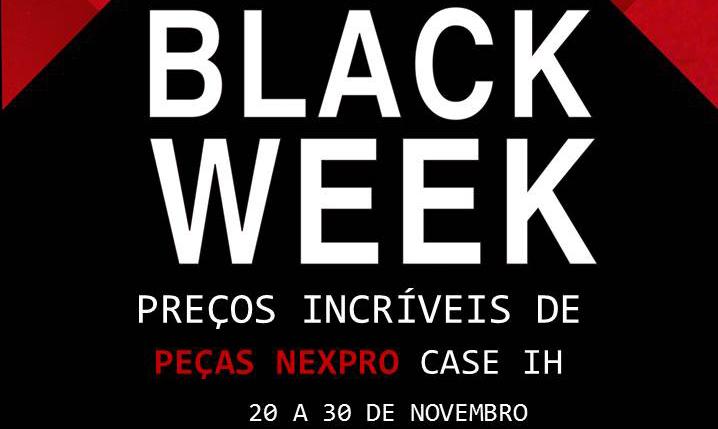 Black Week – Promoção de Peças Nexpro
