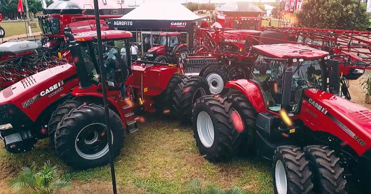Agrofito Case expõe soluções para plantio e trato cultural na Farm Show 2019