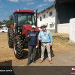 Agrofito Case realiza demonstração de Farmall