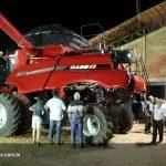 Lançamento colheitadeiras série 130 em Alto Garças