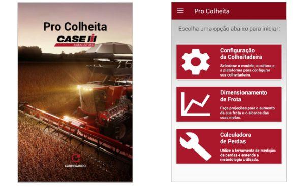 Case IH disponibiliza aplicativo Pro Colheita na versão iOS